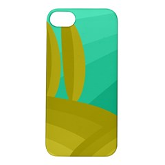 Green And Yellow Landscape Apple Iphone 5s/ Se Hardshell Case by Valentinaart