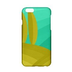 Green And Yellow Landscape Apple Iphone 6/6s Hardshell Case by Valentinaart