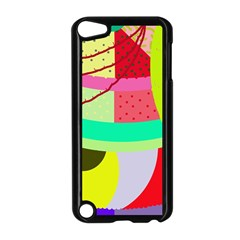 Colorful Abstraction By Moma Apple Ipod Touch 5 Case (black) by Valentinaart