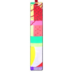 Colorful Abstraction By Moma Large Book Marks by Valentinaart