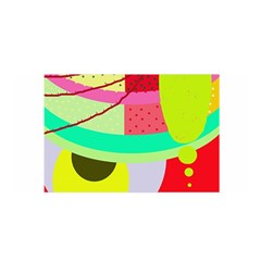 Colorful Abstraction By Moma Satin Wrap by Valentinaart