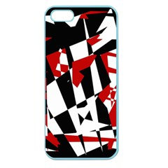 Red, Black And White Chaos Apple Seamless Iphone 5 Case (color) by Valentinaart