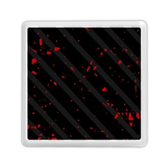 Black and red Memory Card Reader (Square)