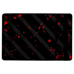 Black And Red Ipad Air 2 Flip by Valentinaart