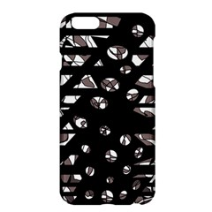 Gray Abstract Design Apple Iphone 6 Plus/6s Plus Hardshell Case by Valentinaart