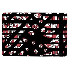 Red freedam iPad Air Flip by Valentinaart