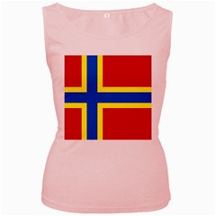 Flag Of Orkney Women s Pink Tank Top