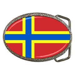 Flag Of Orkney Belt Buckles by abbeyz71