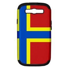 Flag Of Orkney Samsung Galaxy S Iii Hardshell Case (pc+silicone) by abbeyz71