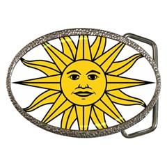 Uruguay Sun Of May Belt Buckles by abbeyz71