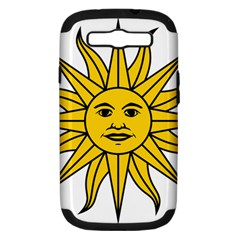 Uruguay Sun Of May Samsung Galaxy S Iii Hardshell Case (pc+silicone) by abbeyz71
