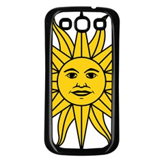 Uruguay Sun Of May Samsung Galaxy S3 Back Case (black)