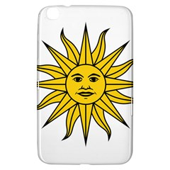 Uruguay Sun Of May Samsung Galaxy Tab 3 (8 ) T3100 Hardshell Case