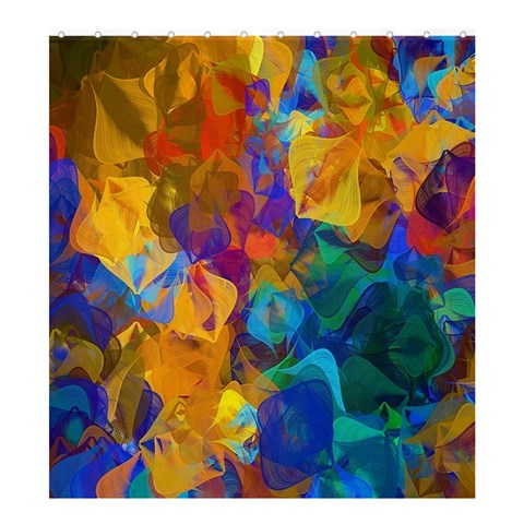 Abstract Shower Curtain Formatted For :  Shower Curtain Templateor Product: Shower Curtain By Pamela Sue Goforth   Shower Curtain 66  X 72  (large)   0dktoivrvjmr   Www Artscow Com 58.75 x64.8 Curtain