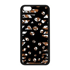 Brown Freedom  Apple Iphone 5c Seamless Case (black) by Valentinaart