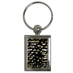 Green Freedom Key Chains (rectangle)  by Valentinaart