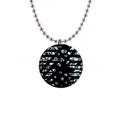 Blue Freedom Button Necklaces by Valentinaart