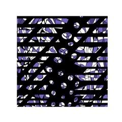 Purple freedom Small Satin Scarf (Square)