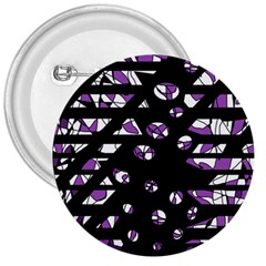 Violet Freedom 3  Buttons by Valentinaart