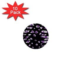 Violet Freedom 1  Mini Buttons (10 Pack)  by Valentinaart