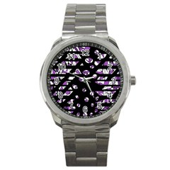 Violet freedom Sport Metal Watch