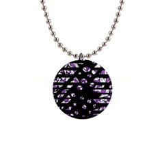 Violet Freedom Button Necklaces by Valentinaart