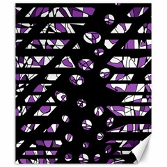 Violet Freedom Canvas 20  X 24   by Valentinaart
