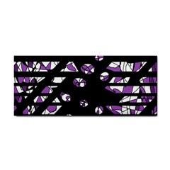 Violet Freedom Hand Towel by Valentinaart