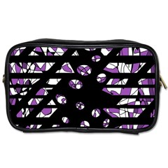 Violet Freedom Toiletries Bags by Valentinaart