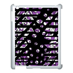 Violet Freedom Apple Ipad 3/4 Case (white) by Valentinaart