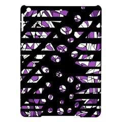 Violet Freedom Ipad Air Hardshell Cases by Valentinaart