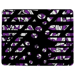 Violet freedom Jigsaw Puzzle Photo Stand (Rectangular) by Valentinaart