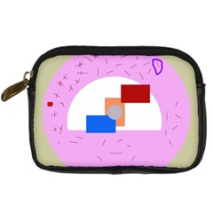 Decorative Abstract Circle Digital Camera Cases by Valentinaart