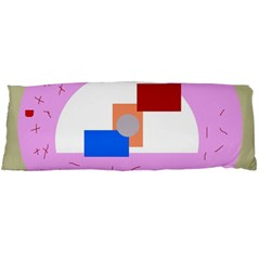 Decorative Abstract Circle Body Pillow Case (dakimakura) by Valentinaart