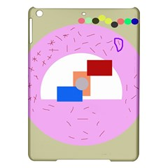 Decorative Abstract Circle Ipad Air Hardshell Cases by Valentinaart