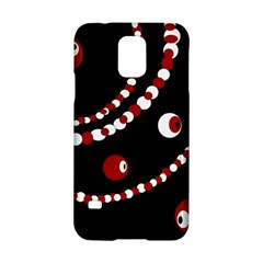 Red pearls Samsung Galaxy S5 Hardshell Case  by Valentinaart