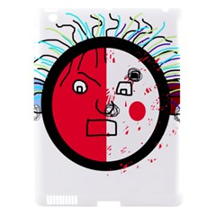 Angry Transparent Face Apple Ipad 3/4 Hardshell Case (compatible With Smart Cover) by Valentinaart