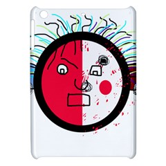Angry transparent face Apple iPad Mini Hardshell Case by Valentinaart
