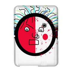 Angry transparent face Amazon Kindle Fire (2012) Hardshell Case