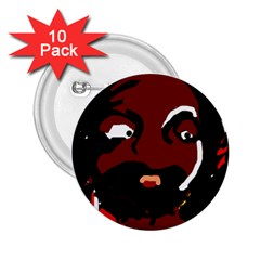 Abstract face  2.25  Buttons (10 pack)  by Valentinaart
