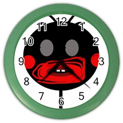 Face Color Wall Clocks by Valentinaart
