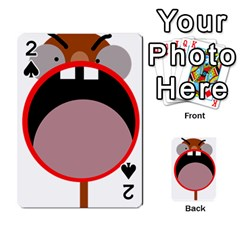 Funny Face Playing Cards 54 Designs