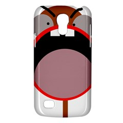Funny Face Galaxy S4 Mini by Valentinaart