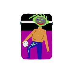 Goalkeeper Apple Ipad Mini Protective Soft Cases by Valentinaart