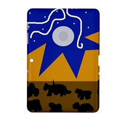 Decorative abstraction Samsung Galaxy Tab 2 (10.1 ) P5100 Hardshell Case  by Valentinaart