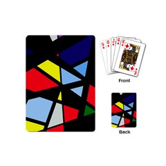 Colorful geomeric desing Playing Cards (Mini)