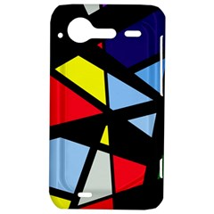 Colorful geomeric desing HTC Incredible S Hardshell Case  by Valentinaart