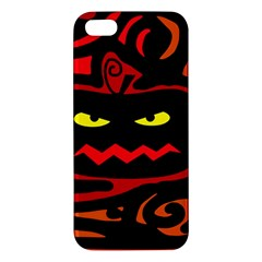 Halloween Pumpkin Apple Iphone 5 Premium Hardshell Case by Valentinaart