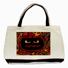 Halloween decorative pumpkin Basic Tote Bag (Two Sides)