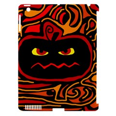 Halloween Decorative Pumpkin Apple Ipad 3/4 Hardshell Case (compatible With Smart Cover) by Valentinaart